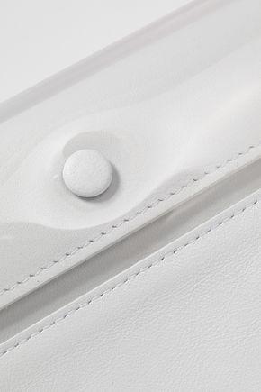 MAISON MARGIELA Leather and PVC clutch