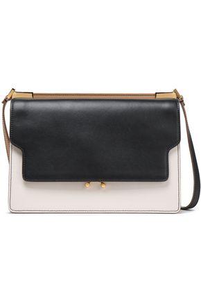 MARNI Trunk color-block leather shoulder bag