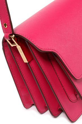 MARNI Trunk textured-leather shoulder bag