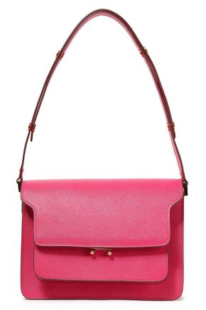 MARNI Trunk textured-leather shoulder bag