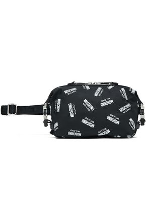 MOSCHINO Printed shell belt bag