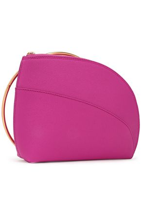 ROKSANDA Pebbled-leather clutch