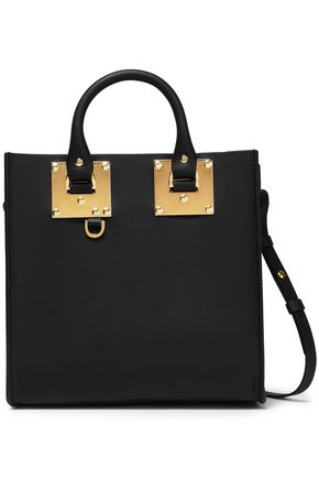 SOPHIE HULME Albion Square matte-leather shoulder bag