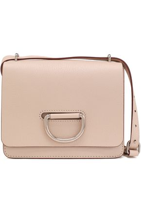 BURBERRY Pebbled-leather shoulder bag