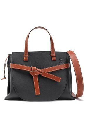 LOEWE Gate textured-leather shoulder bag