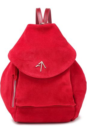 MANU ATELIER Suede backpack