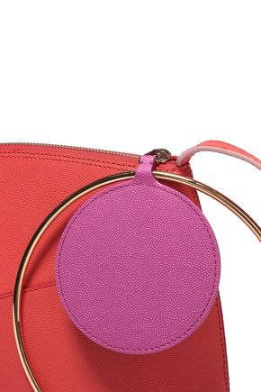 ROKSANDA Eartha two-tone textured-leather shoulder bag