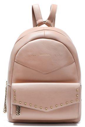 JIMMY CHOO Cassie embellished leather backpack