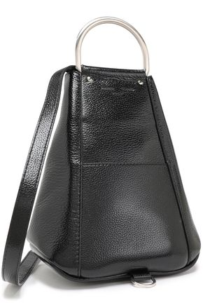 PROENZA SCHOULER Textured patent-leather backpack
