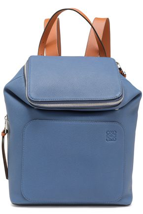 LOEWE Goya small pebbled-leather backpack