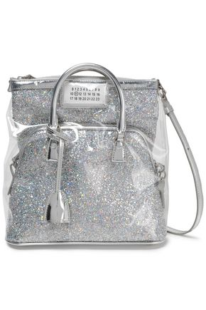 MAISON MARGIELA Glittered PVC backpack