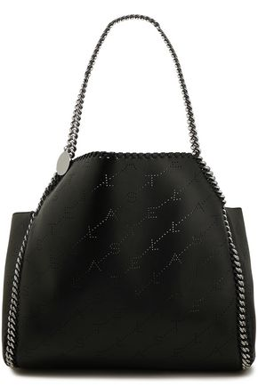 STELLA McCARTNEY Falabella reversible perforated faux leather tote
