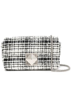 SONIA RYKIEL Cotton-blend tweed shoulder bag