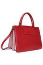 JIMMY CHOO Rebel two-tone leather shoulder bag