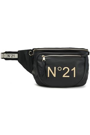 N°21 Logo-print leather belt bag