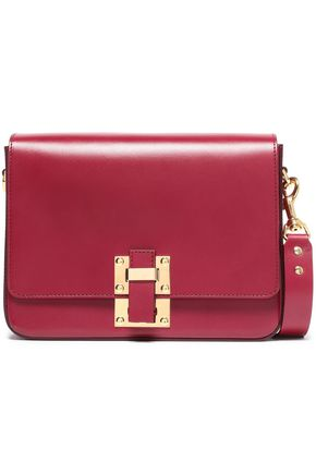 SOPHIE HULME The Quick large matte-leather shoulder bag