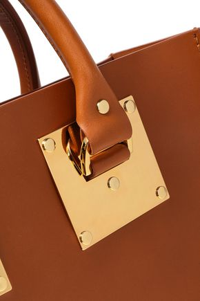 SOPHIE HULME Mini Albion leather tote
