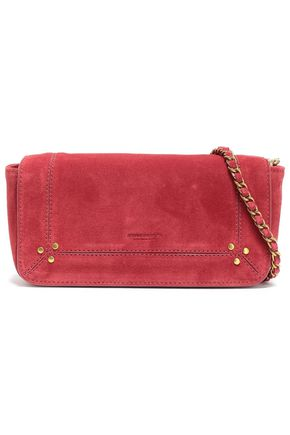 JÉRÔME DREYFUSS Studded suede shoulder bag