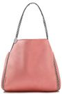 STELLA McCARTNEY Falabella reversible faux brushed-leather tote