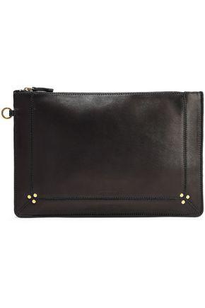 JÉRÔME DREYFUSS Popoche leather clutch