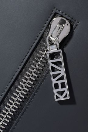 KENZO Kalifornia zip-detailed matte-leather tote