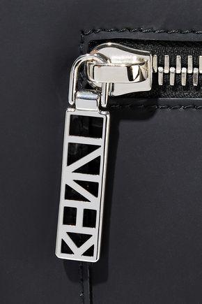 KENZO Kalifornia mini zip-detailed matte-leather tote