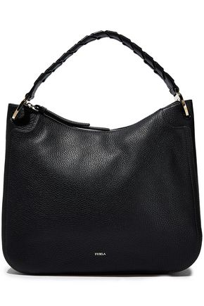 FURLA Rialto pebbled-leather shoulder bag