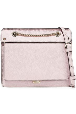 FURLA Like mini pebbled-leather shoulder bag