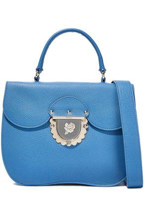 FURLA Ducale textured-leather shoulder bag