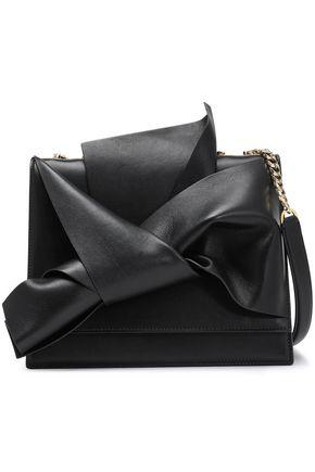 N°21 Knotted leather shoulder bag