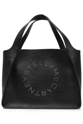 STELLA McCARTNEY Studded faux leather tote