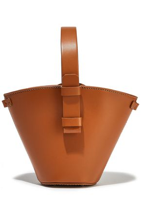 NICO GIANI Nelia leather bucket bag