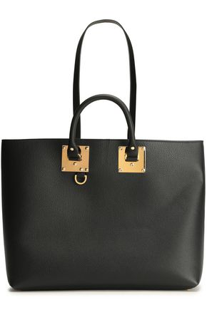SOPHIE HULME Cromwell East West textured-leather tote