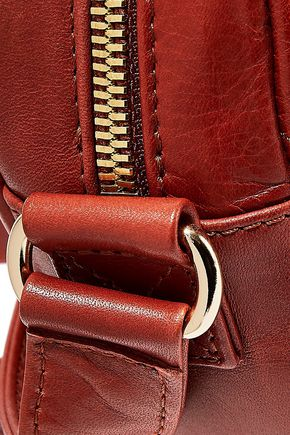 A.P.C. Quilted leather shoulder bag