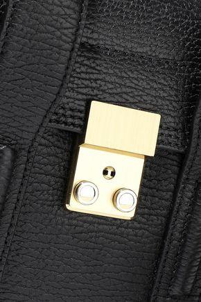 3.1 PHILLIP LIM Pashli textured-leather shoulder bag