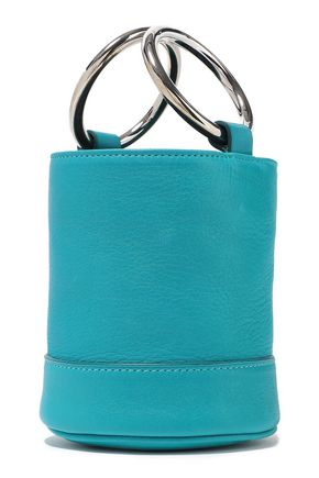 SIMON MILLER Pebbled-leather tote