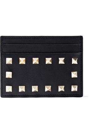VALENTINO GARAVANI Studded leather cardholder