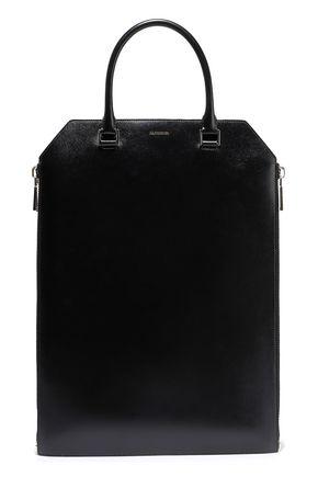 JIL SANDER Zip-detailed leather tote