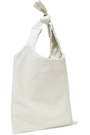 JIL SANDER Knotted leather tote