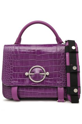 J.W.ANDERSON Embellished croc-effect leather tote