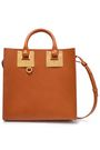 SOPHIE HULME Square Albion leather tote