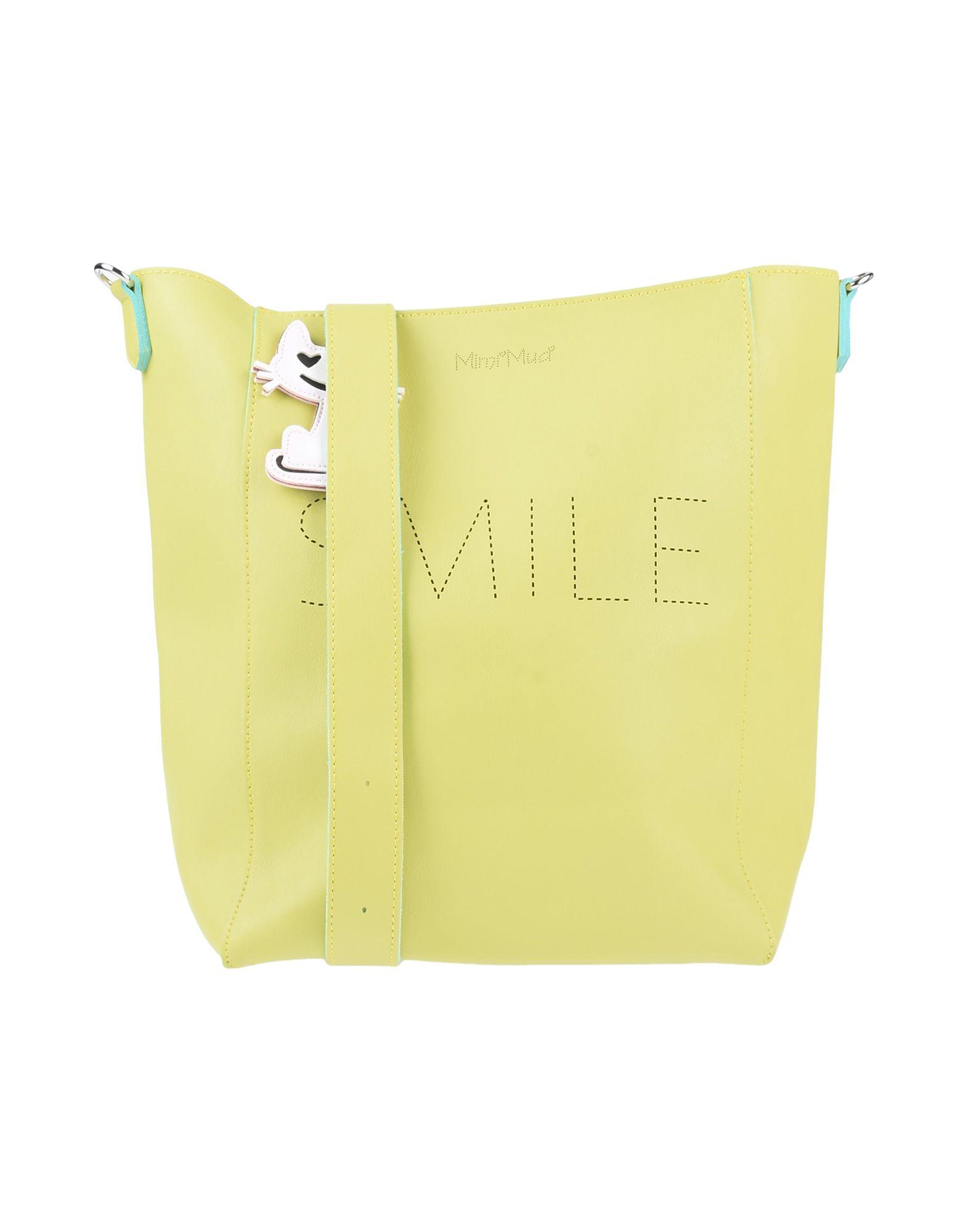 《送料無料》MIMI-MU? Firenze レディース メッセンジャーバッグ ビタミングリーン ポリウレタン 65% / ポリエステル 35%