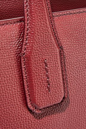 BURBERRY The Banner medium textured-leather tote