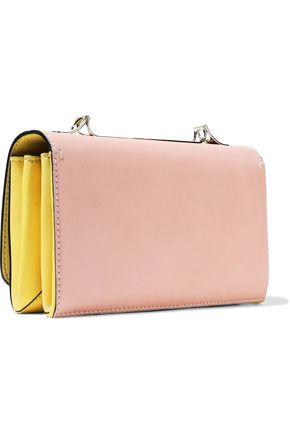 VALENTINO GARAVANI Va Va Voom color-block leather shoulder bag