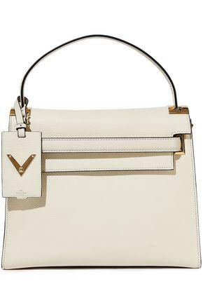 VALENTINO GARAVANI Textured-leather shoulder bag