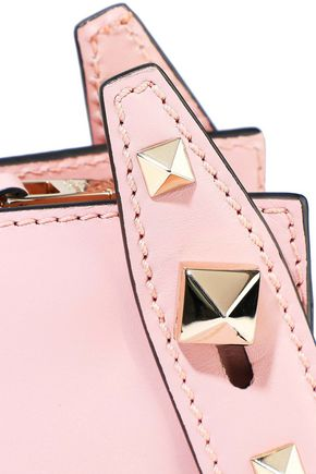VALENTINO GARAVANI Studded leather clutch