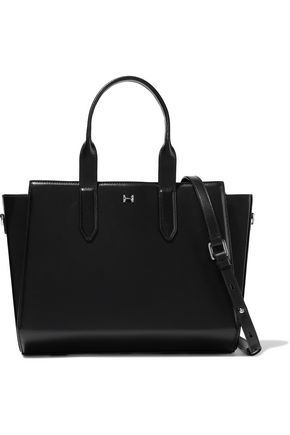 HALSTON HERITAGE East West leather tote