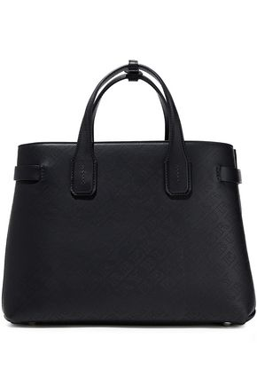 BURBERRY Perforated leather tote