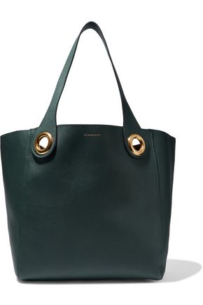BURBERRY The Grommet leather tote