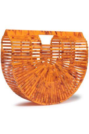 CULT GAIA Ark marbled acrylic clutch